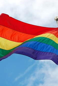 Ferndale is one of the first cities in the country to permanently wave the LGBT Pride flag