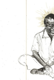 Why Sabrina Nelson is no longer mad that someone stole her sketchbook of James Baldwin drawings