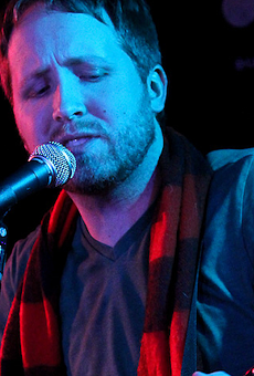 Singer-songwriter Matt Dmits.
