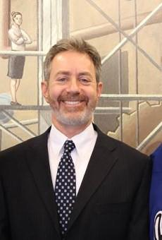 The Insane Clown Posse and Michigan ACLU legal director Michael J. Steinberg.