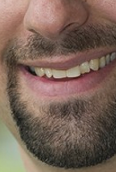 Detroit City Councilmember Gabe Leland's mouth, circa 2013.