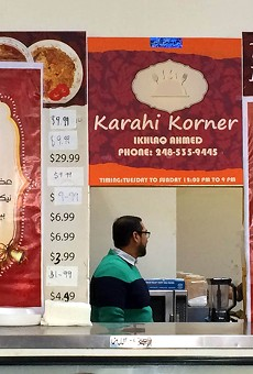 This Pakistani restaurant is literally a hole in the wall — and it's awesome