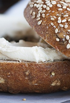 Bruegger's Bagels will offer three free bagels to customers everywhere on Thursday, Feb. 1.