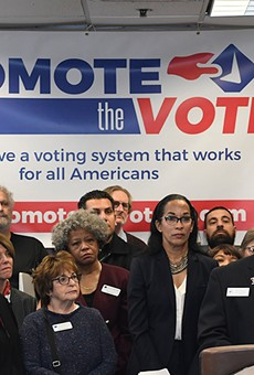 A broad coalition including the ACLU of Michigan, the League of Women Voters, the state and Detroit branches of the NAACP, and others launched a campaign Monday to bring comprehensive election reform to Michigan through a ballot initiative.