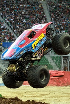 Monster Jam will rev engines and break stuff at Ford Field this weekend