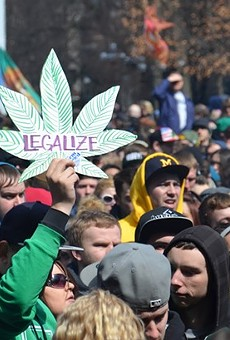 The man campaigning to derail marijuana legalization in Michigan makes his case