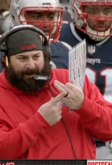 Nice beard, Matt