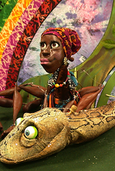 You have one more chance to see West African folklore brought to life through puppetry