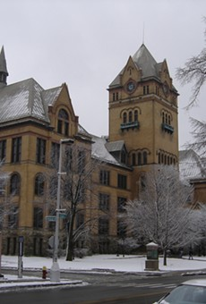 Old Main on Midtown's Wayne State University campus.