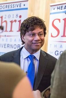 Democrat gubernatorial candidate Shri Thanedar.
