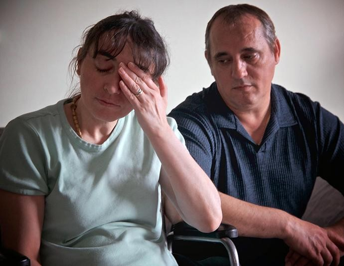Ded Rranxburgaj and his wife, Flora. - FACEBOOK, JIM BULL
