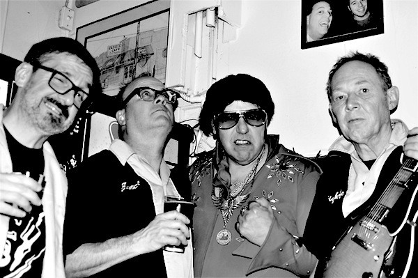 Eastside Elvis & the Motor City Mafia (l to r): Tim Suliman, Tim Taebel, Paul - PHOTO COURTESY EASTSIDE ELVIS