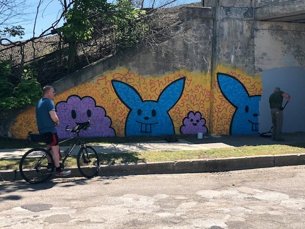 Bunnies and little monsters, courtesy of artist Carl Oxley - PHOTO COURTESY CARL OXLEY