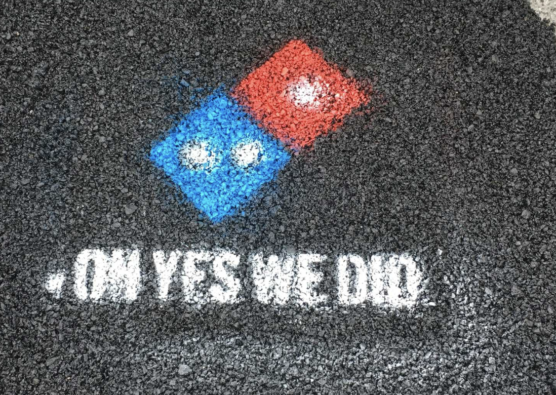 Domino's is 'saving pizza' one pothole at a time