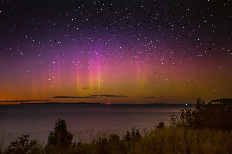You could catch a glimpse of the northern lights in Michigan tonight
