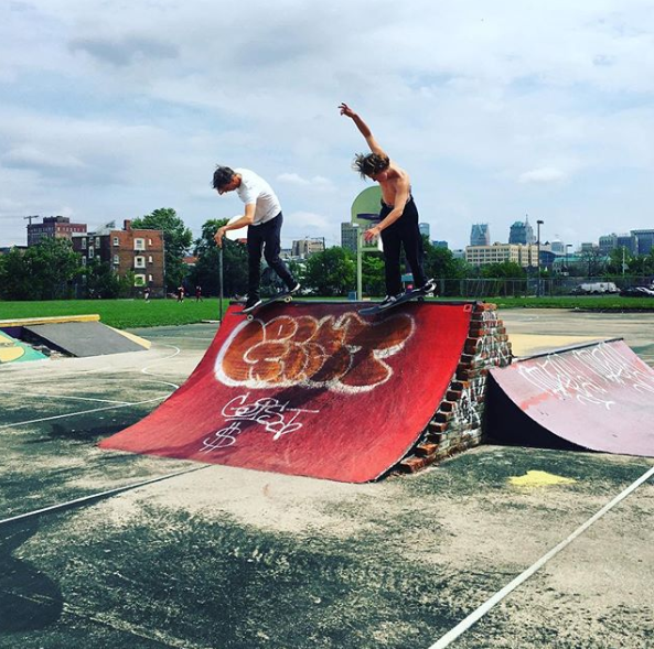 Tony Hawk at Detroit's Wigle Recreation Center - @TONYHAWK