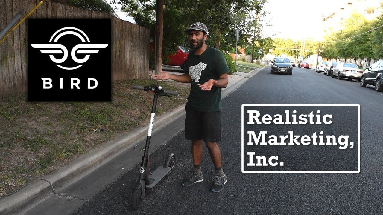 Realistic Marketing Video Roasts Bird Scooters And Where Is The