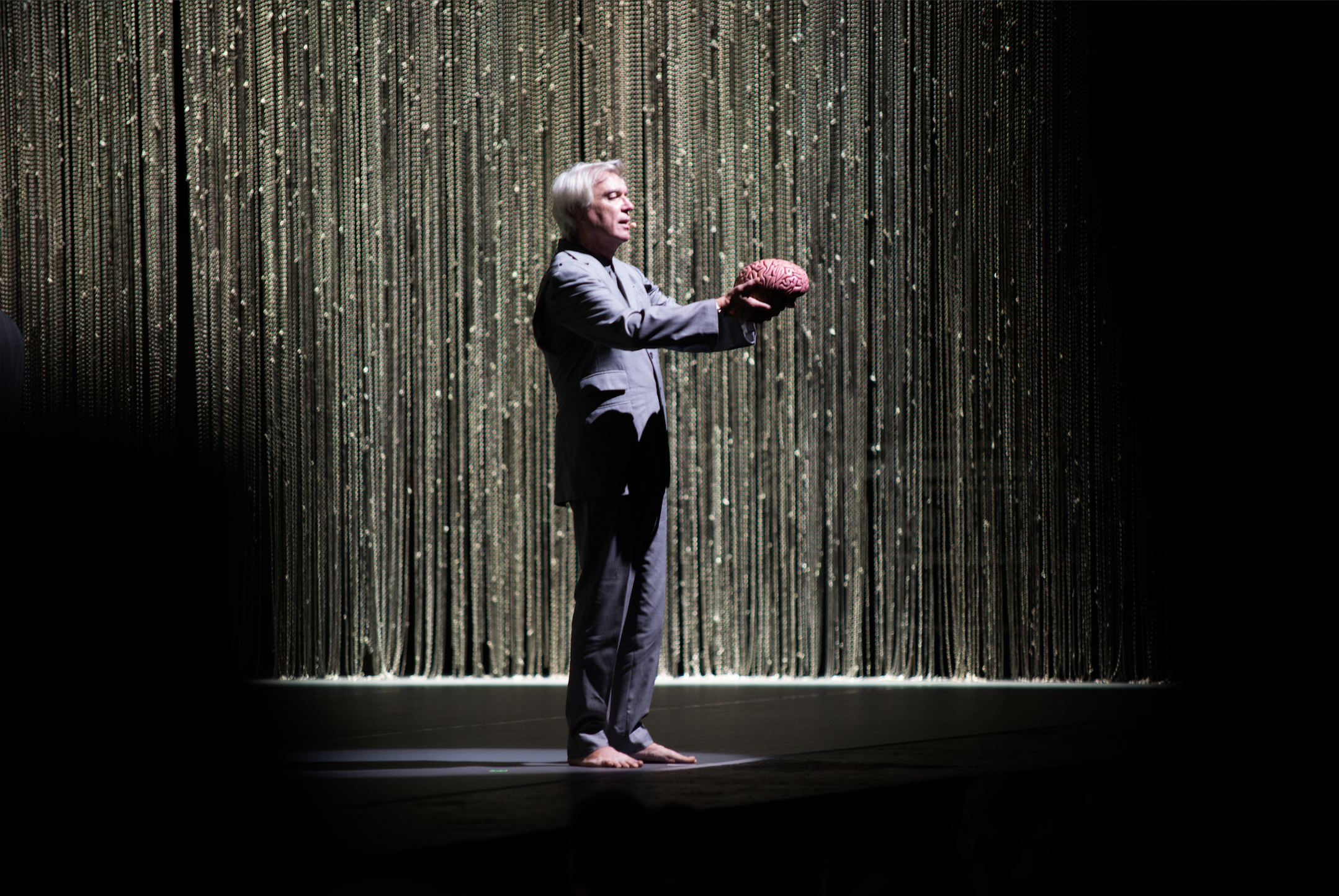 David Byrne gave a lesson in emotional anatomy at the Fox Theatre ...