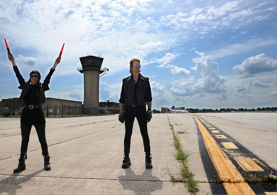 Ground control: Nicola Kuperus and Adam Lee Miller of Adult. - COURTESY PHOTO