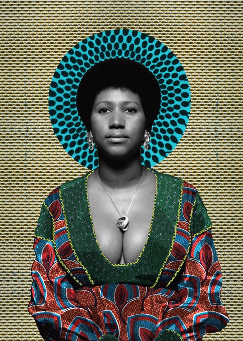 e15ee9b6911 click to enlarge Aretha Franklin portrait by artist Makeba Rainey. -  COURTESY PHOTO