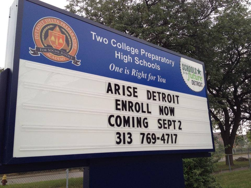 Click To Enlarge Detroit Delta Preparatory Academy For Social Justice  Shuttered Its Doors Today, Shocking Students And Parents