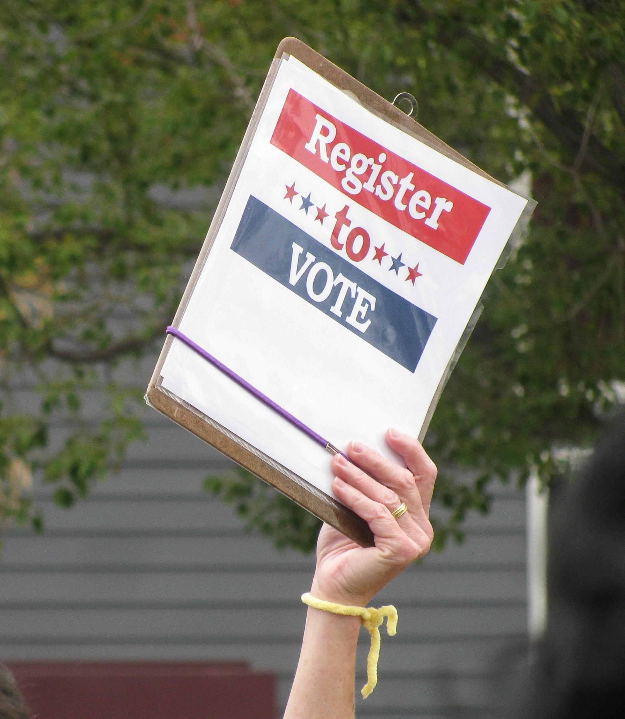 michigan s voter registration deadline is today to register follow