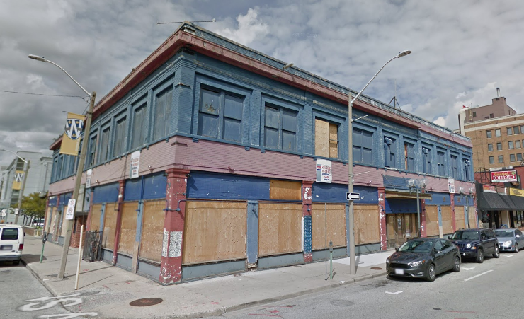 Renovations have already begun at the downtown Windsor building as it prepares to welcome employees of Quicken Loans. - VIA GOOGLE MAPS