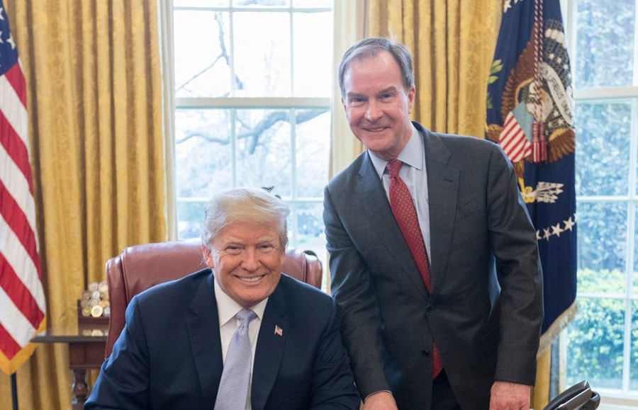 Birds of a feather: President Donald Trump and Bill Schuette. - BILL SCHUETTE CAMPAIGN