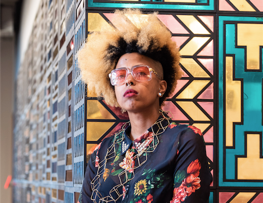 ae55c8e627ed Detroit artist Tiff Massey goes big with  Say It Loud  exhibition at ...
