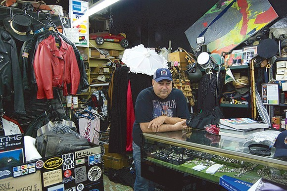 Showtime owner Dan Tatarian in his former Woodward Ave. location. - LEE DEVITO