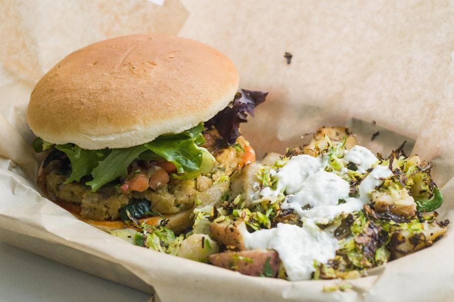 Southwest burger from Unburger. - TOM PERKINS