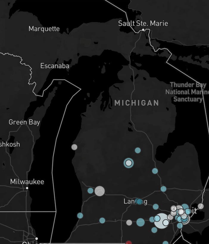 835ecfb3736c1 Report  Michigan saw a sharp increase in white supremacist incidents ...