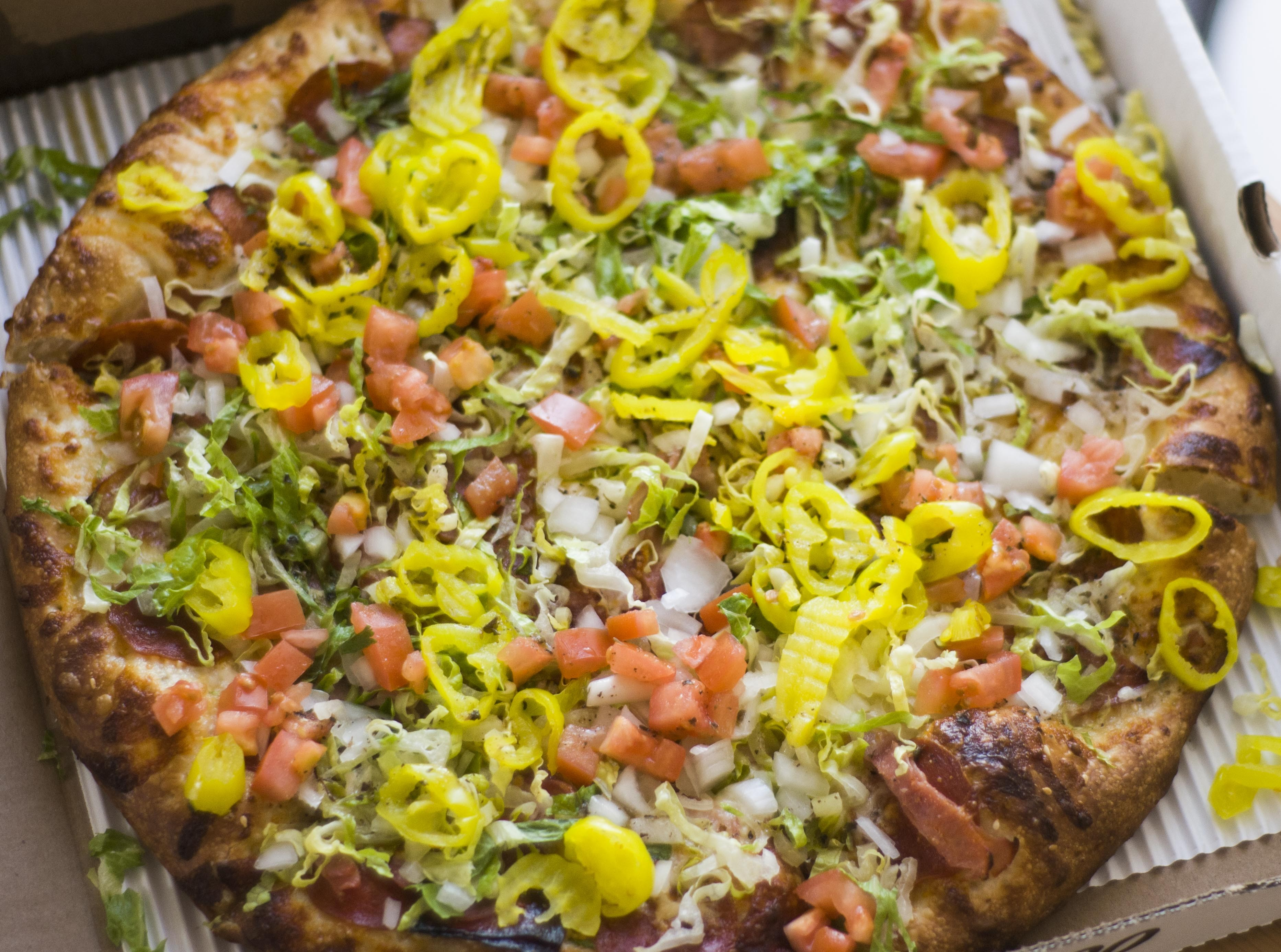 Is Pie Sci S Salami Kilpatrick The Best Pizza In Detroit Table And Bar