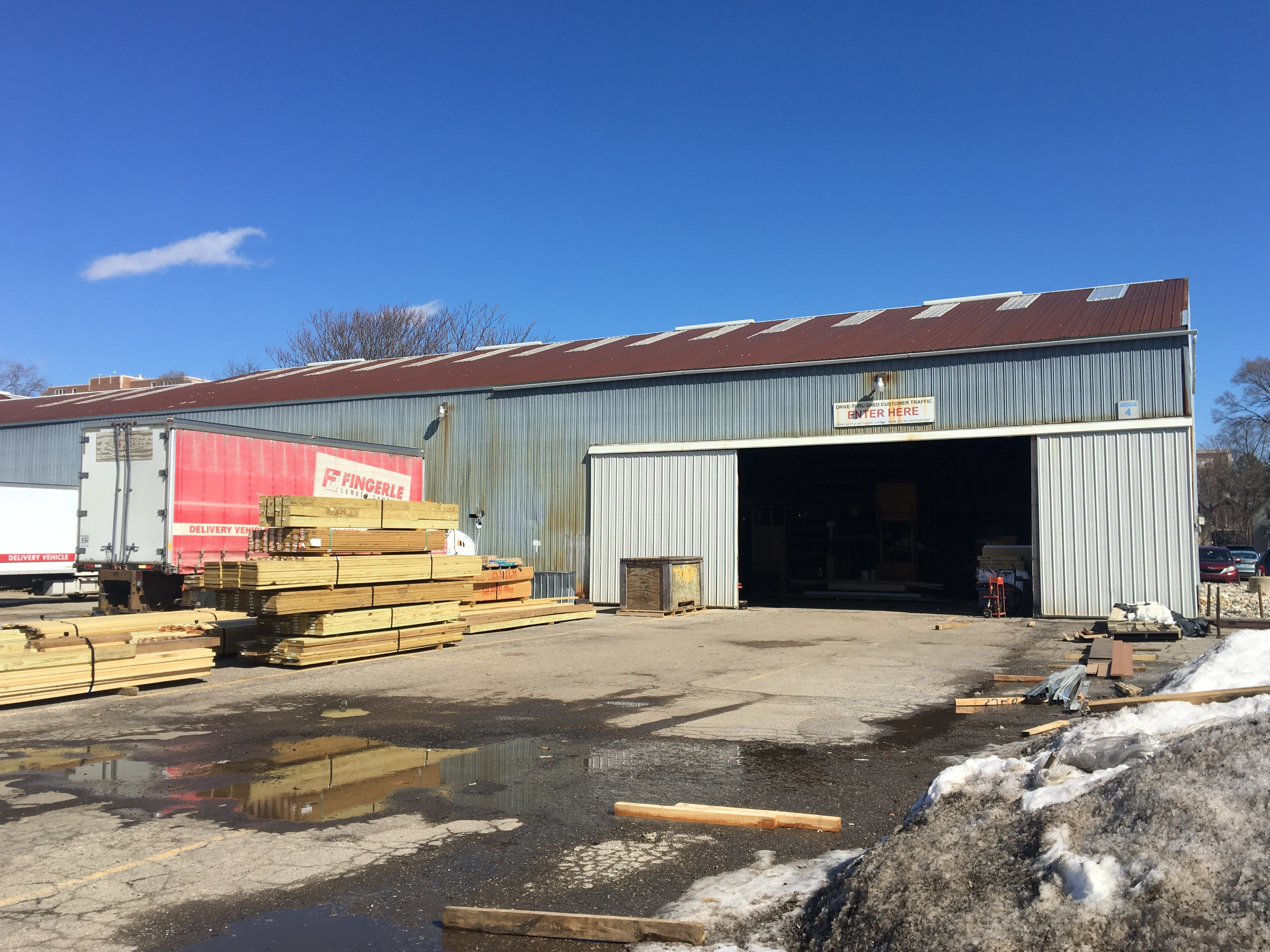 Vinsetta Garage Owners May Convert Ann Arbor S Fingerle Lumber Into