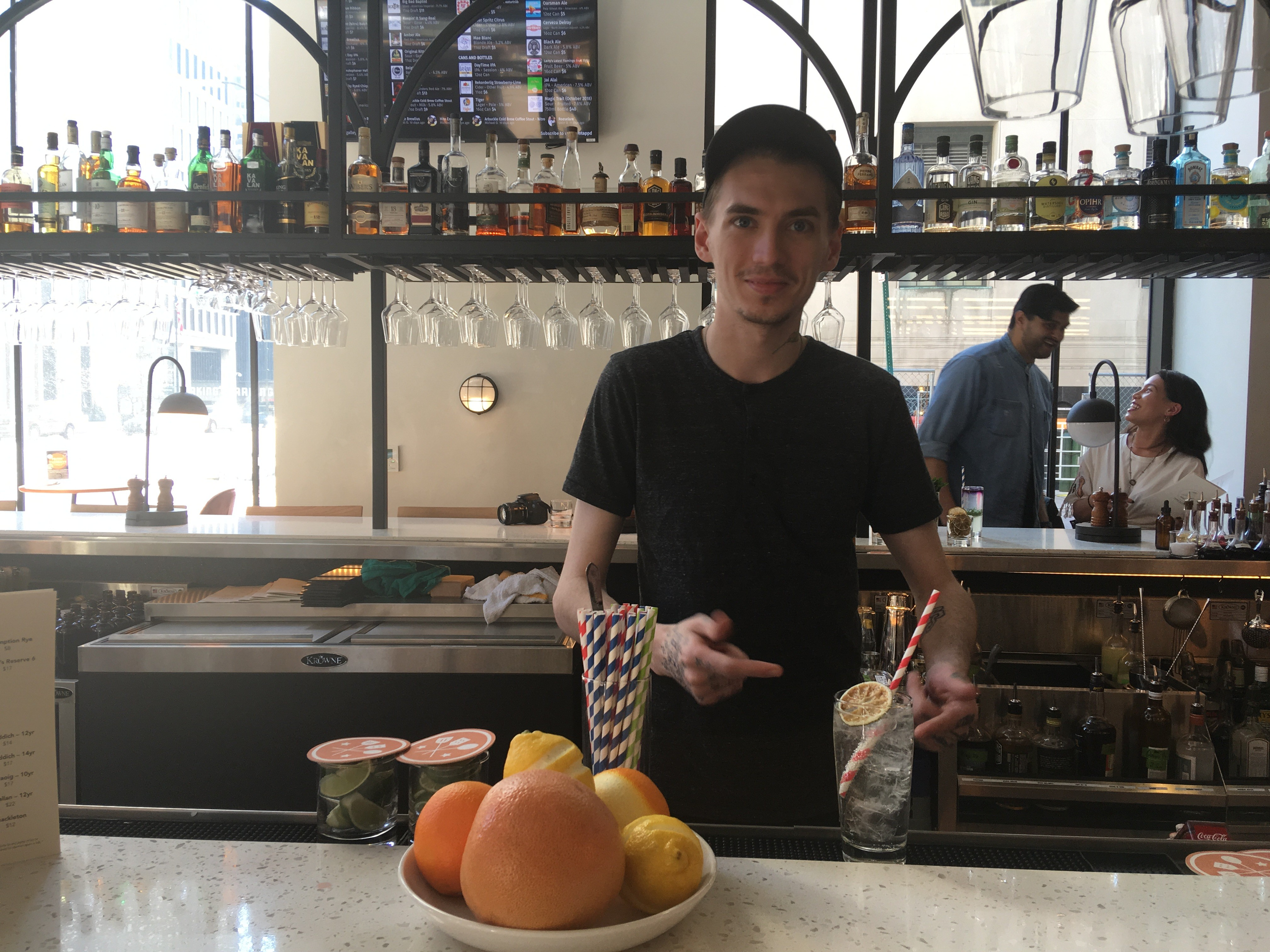 Magpie is now slinging creative cocktails at Detroit's Fort Street Galley