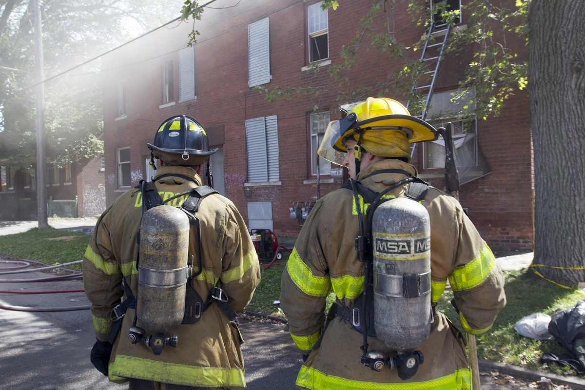 Detroit firefighters' lawsuit: Someone else clean up the damn blood