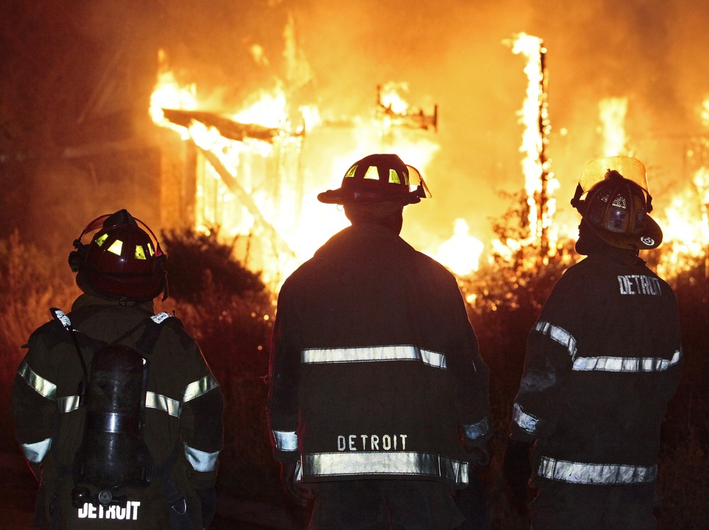 Graphic novel features Detroit firefighters' heroism and dark struggles
