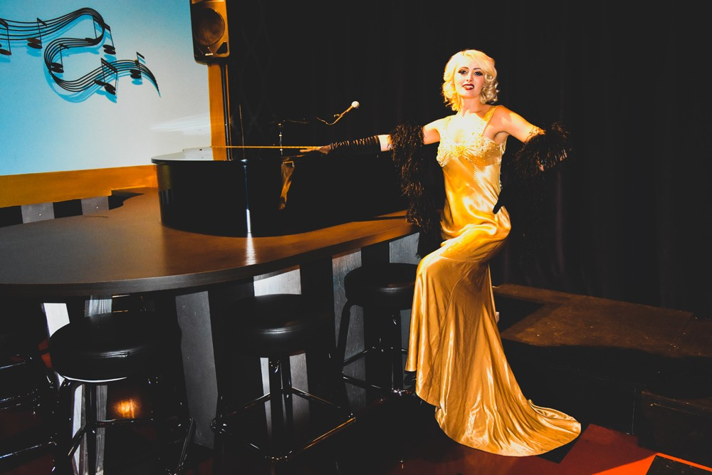 Sid Gold's Request Room piano bar launches monthly burlesque night
