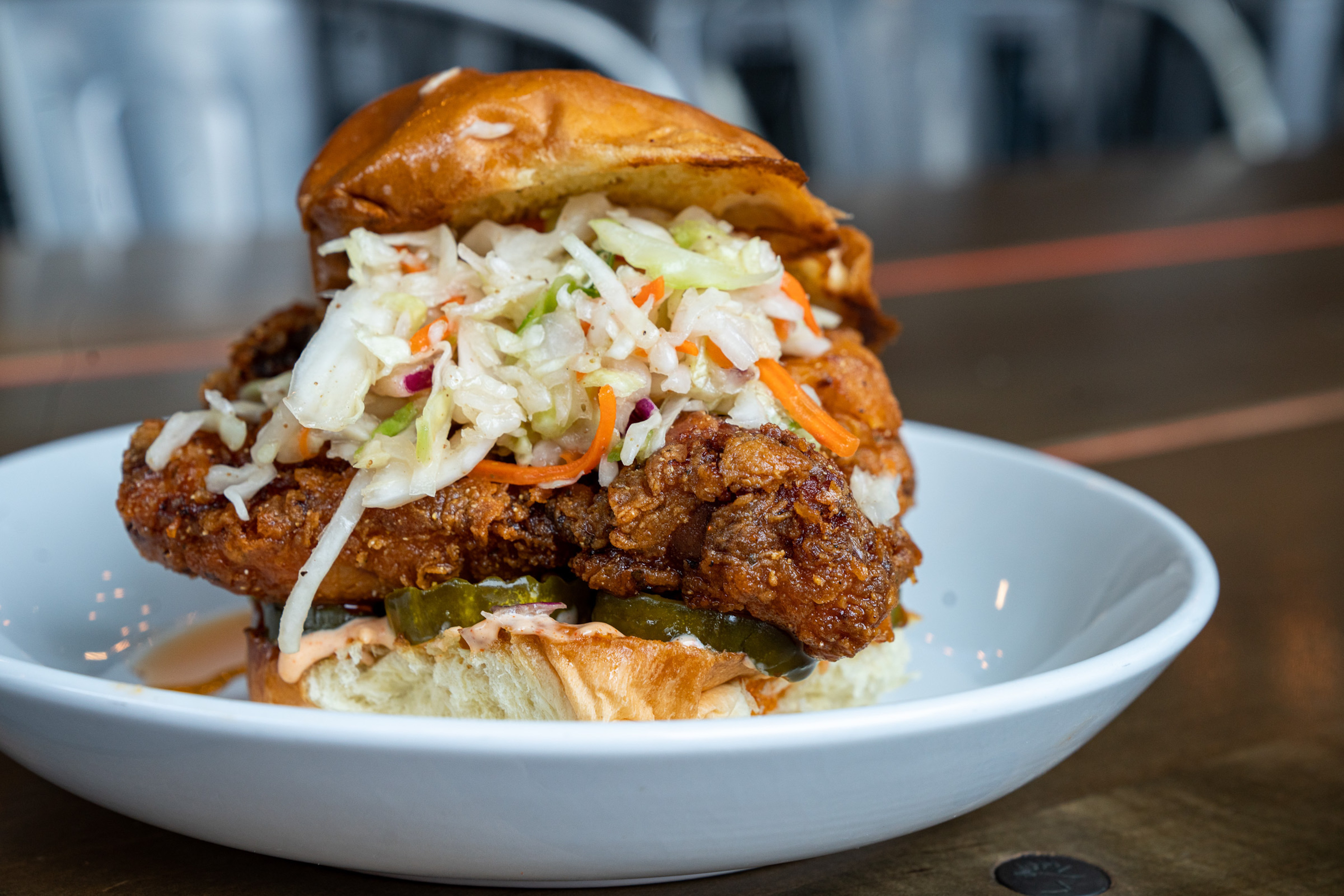 A new fried chicken restaurant is coming to Detroit's Fort Street Galley