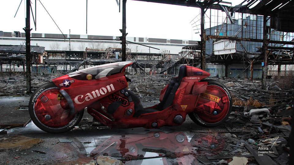 Design for a live-action Akira movie, (currently in development hell). - COURTESY PHOTO