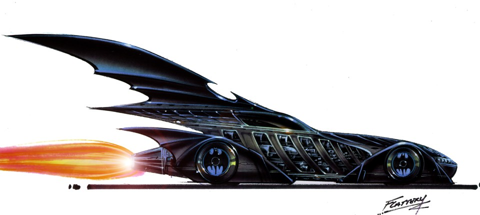 The Batmobile from Batman Forever. - COURTESY PHOTO