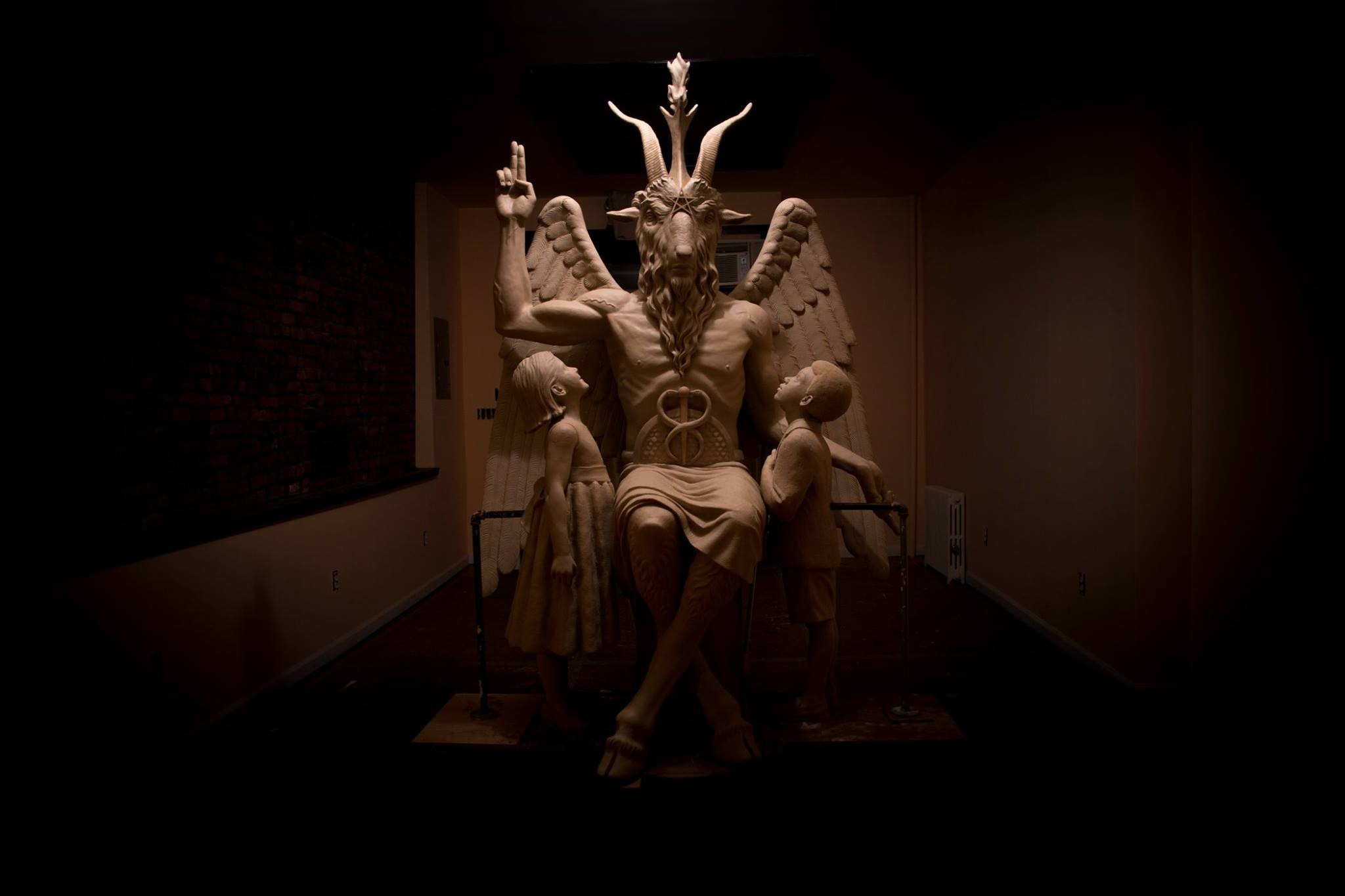 The Satanic Temple To Unveil Baphomet Monument In Detroit The Scene