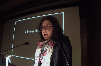 SCREENSHOT OF MARIE-LAURENCE HÉBERT-DOLBEC, TAKEN FROM VIMEO.COM/125235039