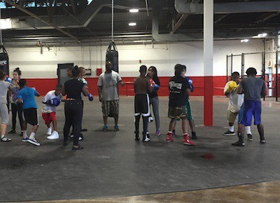 PHOTO COURTESY DOWNTOWN BOXING GYM YOUTH PROGRAM
