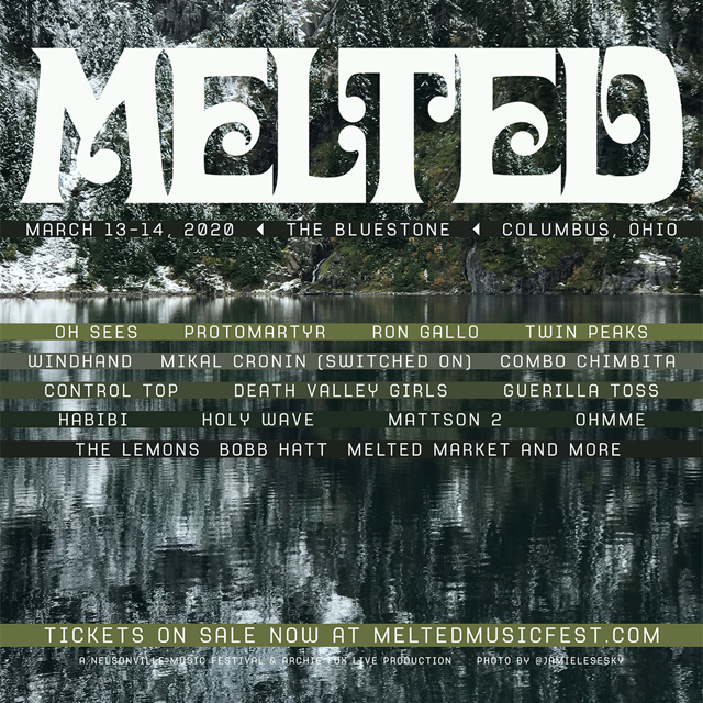 Melted Music Festival Two Days Of Rock Psychedelia Descends On