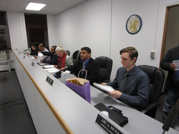 Hamtramck City Council - PHOTO BY MICHAEL JACKMAN