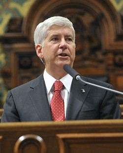 Gov. Rick Snyder. - MICHIGAN.GOV