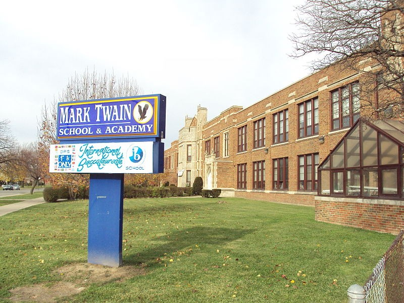 Mark Twain Academy, a DPS school in southwest Detroit. - NOTORIOUS4LIFE VIA WIKIMEDIA COMMONS