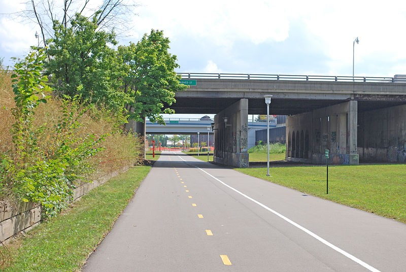 The Dequindre Cut is one of the projects getting a boost from the Knight Cities Challenge. - ANDREW JAMESON VIA WIKIMEDIA COMMONS