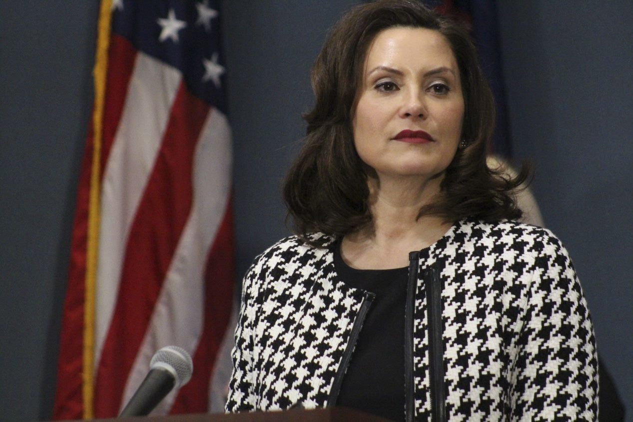 Michigan Gov. Whitmer says she'll take pay cut during pandemic